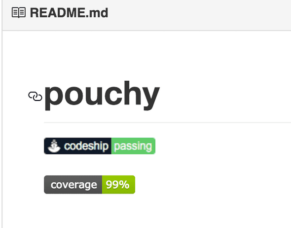 node js project coverage with codeship io && coveralls io